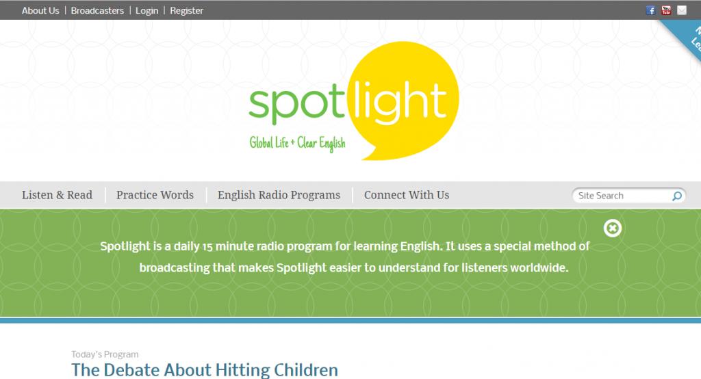 Học tiếng Anh với Spotlight