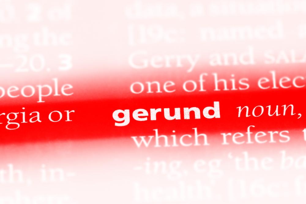 Khái niệm về danh động từ trong tiếng Anh